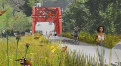 Hinsdale-Brattleboro Existing Bridges Conceptual Rendering